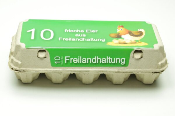 1 Eierschachteln TOP 10 Freilandhaltung
