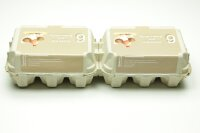 1 Eierschachteln TOP 6 ( 2 x 6er ) Bodenhaltung