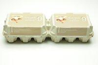 260 Eierschachteln TOP 6 ( 2 x 6er ) Bodenhaltung