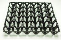 1 Kunststoff Eierlage schwarz