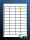 100Blatt selbstklebende Etiketten 48,5 x 25,4 mm
