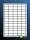 100 Blatt selbstklebende Etiketten 38 x 21,8 mm