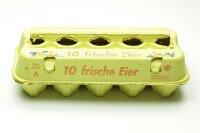 3600 neue Eierschachteln mit Lochdeckel ohne Haltungsform
