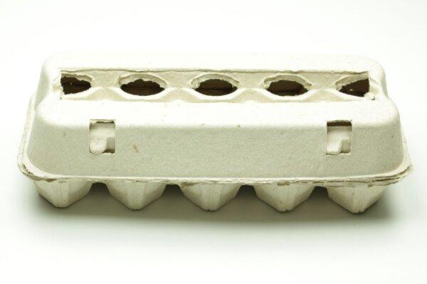 1 Eierschachtel E3810 grau unbedruckt