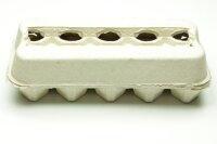 450 neue Eierschachten E3810 grau ohne Aufdruck