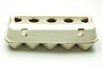 3600 neue Eierschachten E3810 grau ohne Aufdruck