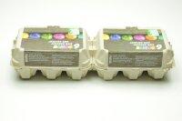 260 Eierschachteln TOP 6 ( 2 x 6er ) für gefärbte Eier )