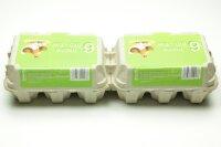 260 Eierschachteln TOP 6 ( 2 x 6er ) BIO Aufdruck