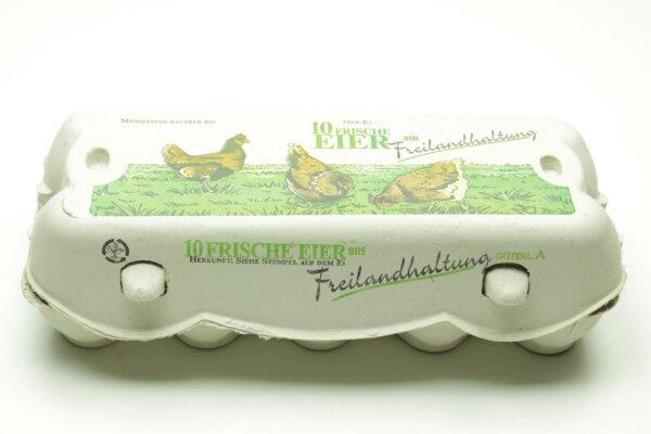 1 x Eierschachteln 10er Omni Pac Swing Freilandhaltung