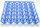 1 Kunststoff Eierhorde blau