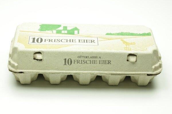 154 Eierschachteln TOP 10 frische Eier